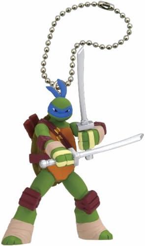 """Leonardo Teenage Mutant Ninja Turtles Figure Key Chain Mini Figure 1.5/"""""""