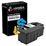 Hydra Compatible Toner Cartridge Replacement for Xerox 106R02759 (Black, 1-Pack) for Phaser 6022 & WorkCentre 6027
