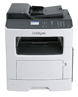 Lexmark MX317dn Compact All-In One Monochrome Laser Printer, Network Ready, Scan, Copy, Duplex Printing and Professional Features