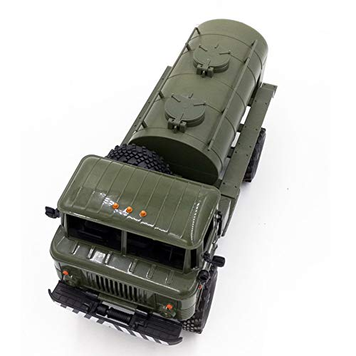 Leoie Remote Control Accessory Simulation Oil Transport Tank DIY Parts Model WPL B-24 B-16 Ural ()