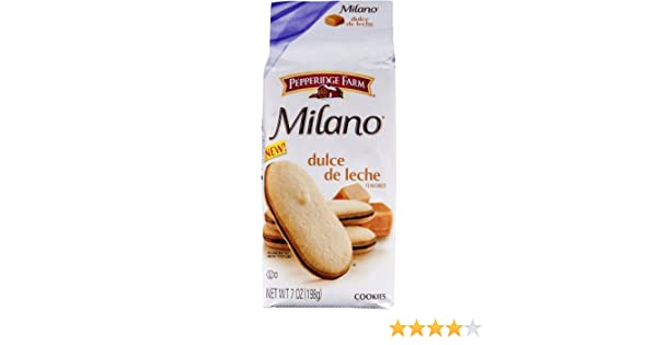 Pepperidge Farm Milano Cookies Dulce De Leche