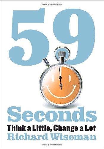 59 Seconds: Think a Little Change a Lot (Borzoi Books)