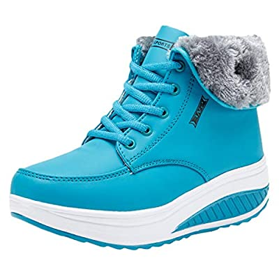 Londony ?? Clearance,Most Comfortable Athletic Shoes for Women with Plush Wedges Thick Bottom Fashioh Sneakers