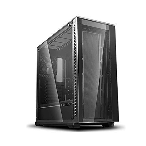 DEEPCOOL MATREXX 70 Mid-Tower Case Modular Design Full-Size Tempered Glass GPU Vertical Installation Quick Open Panels