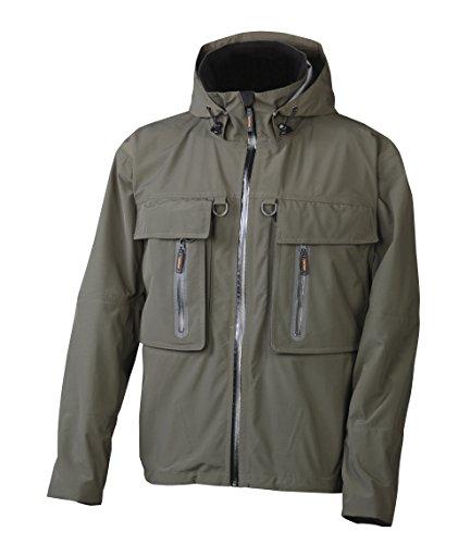 Aquaz Trinity Wading Jacket, Forest, Large