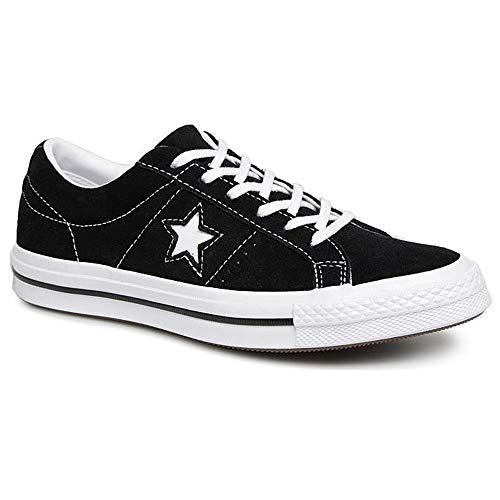 Converse Kids One Star Ox Black/White/White Casual Shoe 5 Kids US - Kids Converse One Star