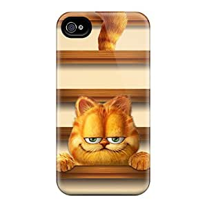 New PKb16780kiGe Garfield Shelves Skin Cases Covers Shatterproof Cases For Iphone 6plus