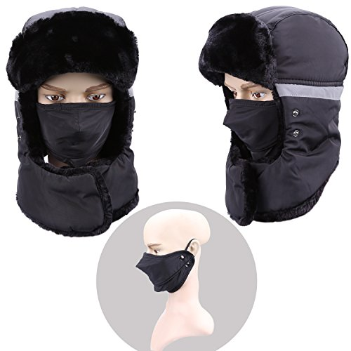 Mysuntown 2017 New Style Unisex Winter Trapper Trooper Hat with Windproof  Mask – Extrevity Shop ce5ec06fe340