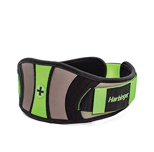 Harbinger Women s Flexfit Contour Weightlifting Belt with Flexible Foam Core for Strength Training, 5-Inch