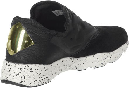 Sneaker Furylite Reebok Nero In Neoprene Slip On Tessuto E Camoscio T1JculFK3