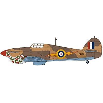Airfix Hawker Hurricane MK I Tropical 1:48 Military Aircraft Plastic Model Kit: Toys & Games