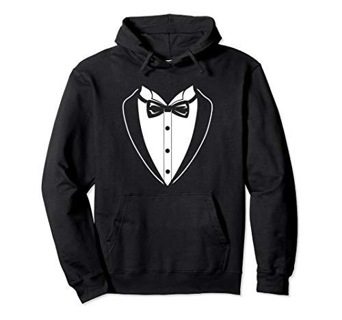 Tux Sweatshirt (Best Man Wedding Tux Funny Bachelor Groom Gift Hoodie)