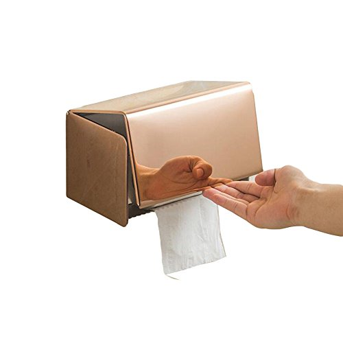 Toilet Tissue Box Wekity Multifunction Stainless Steel Water