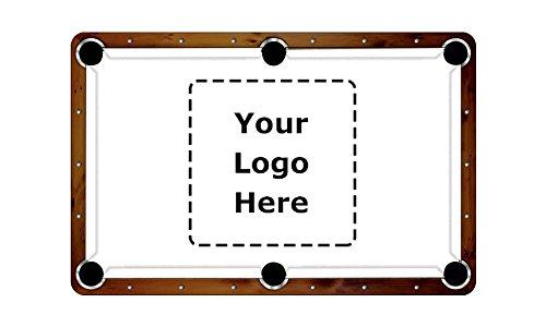ArtScape 8' Custom Design Pool Table Cloth Felt (Pool Felt Table Custom)