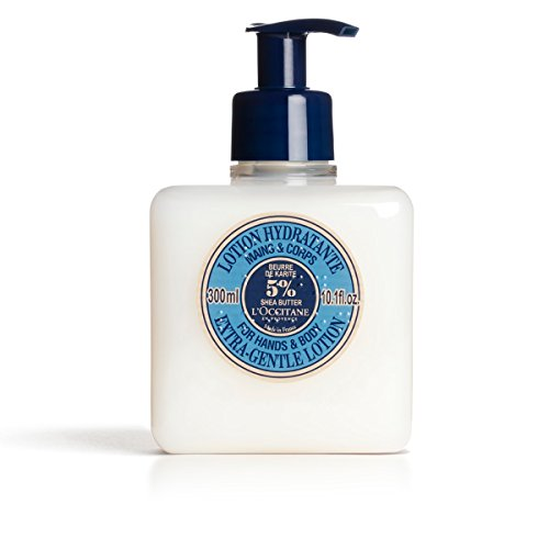 L'Occitane Shea Butter Extra-Gentle Lotion for Hands & Body,