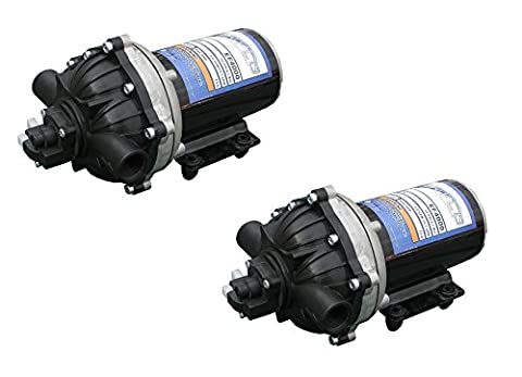 2 PackEVERFLO 12 Volt 4.0 GPM Diaphragm Water Pump 60 psi Lawn Sprayers Boats RV's by The ROP Shop