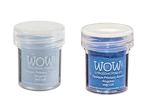 Frozen Bundle: 1 Opaque Primary Azure and 1 Opaque Primary Frozen (15ml ()