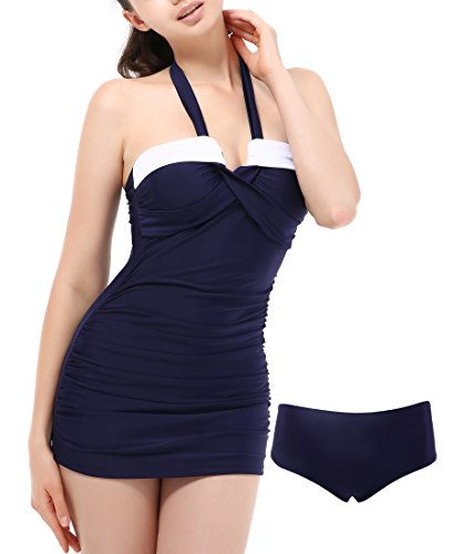 Swimsuits Halter Swimdress Tankini Bathing product image