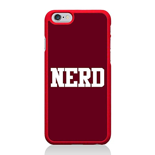 Call Candy Nerd Coque pour Apple iPhone 6/6S – Rouge
