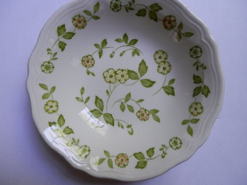 Petite Flora Ironstone Cereal Bowl