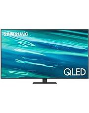 """SAMSUNG 55"""" QLED 4K TV QN55Q80AAFXZX (2021) + Barra de Sonido Mod HW-T400 / ZX"""