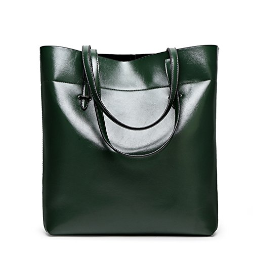 Walcy Fashion Simple PU Leather Bags - Korean Bag With Horse Brand Logo