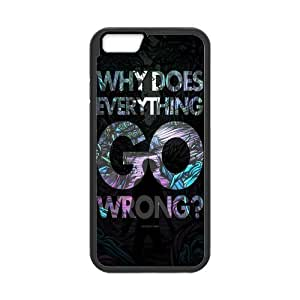 iPhone 6 Protective Case -Why Does Everything Go Wrong? Hardshell Cell Phone Cover Case for New iPhone 6 by runtopwell