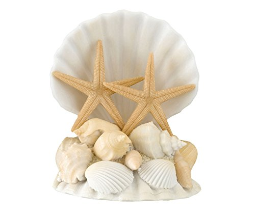 Lillian Rose Coastal Beach Seashell Wedding Cake -