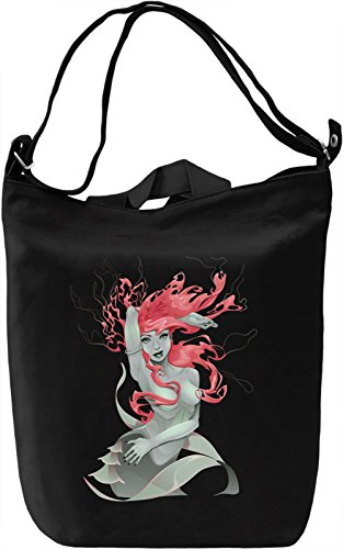 Pink mermaid Borsa Giornaliera Canvas Canvas Day Bag| 100% Premium Cotton Canvas| DTG Printing|