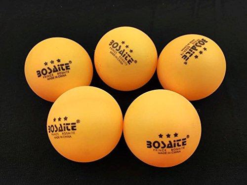 60pcs 40 mm 3スターTable Tennis Ping Pong BallsビールPong Gamesスポーツオレンジ B072P25XBZ