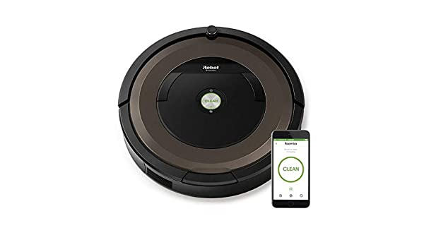 IROBOT Robot aspirador irobot roomba 896 - limpieza 3 fases - sistema aeroforce con extractores antienredos - pared virtual - wifi -: Amazon.es: Hogar