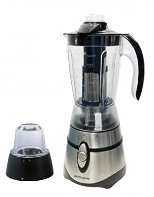 Frigidaire FD5155F Stainless Steel Blender/Grinder with Ice Crusher Function, 220-volt