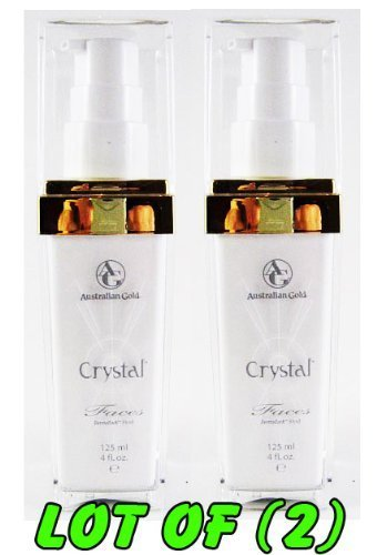 Australian Gold Crystal Facial Tanning