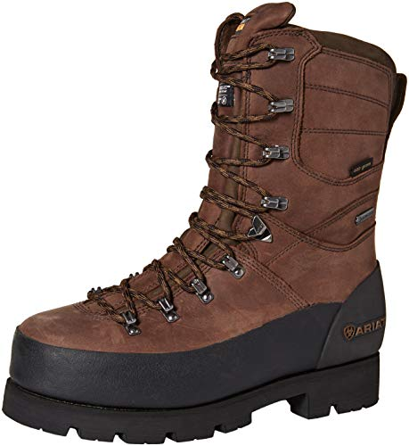 "Ariat Work Men's LINESMAN 10"" GTX 400G Composite Toe Boot, bitter brown, 11 D US"