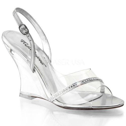FABULICIOUS - zapatos de tacón mujer Clr-Slv Metallic Pu/Clr