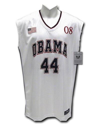 Rapiddominance Presidential Basketball Jersey, White, Medium