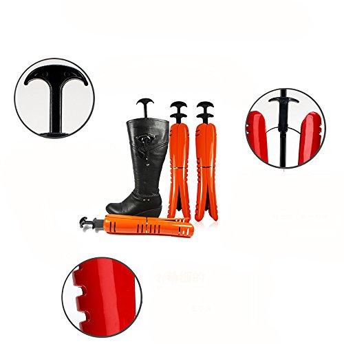 Farbe QFFL erhältlich Orange Support Kunststoff Stiefel Expander Hohe 3 Frame aus Stützstiefel Orange Farben Schuhe Stereotypen Schuhtrockner Schuhstretcher pfZpqrwx
