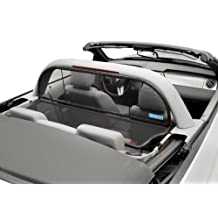 Mustang Convertible 2005 to 2014 Love The Drive™ Wind Deflector compatible with a Light or Style Bar Wind Deflectors are also known as: Wind Screen, Windscreen, Windstop and Wind Blocker