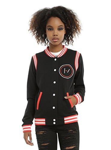 Hot Topic Twenty One Pilots Logo Girls Varsity Jacket