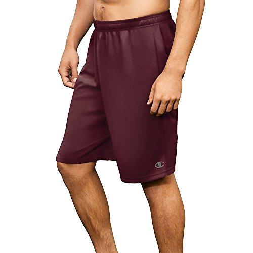 Champion Men's Core Training Short, Team Maroon, Large (Maroon Athletic Belt)