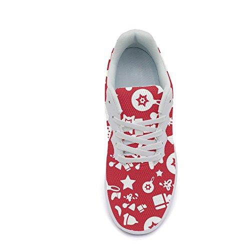 Ddkafjfj Kamille En Schedel Sport Van De Vrouwen Running Sneakers Lichtgewicht Breathabl Bootschoenen Color3