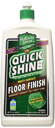 Holloway House Quick Shine 27-Ounce Floor Finish (Shine Finish)