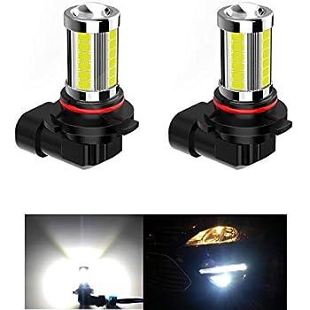 JSBOYAT H10 Led Fog Lights 9140 9145 Led Bulbs CSP Chipsets 1600LM 6500K Cool White 12V Automotive DRL Daytime Running Lights Not Headlight 1 Year 2pack