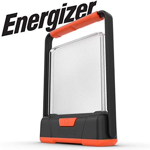 Energizer LED Camping Lantern Flashlight, Battery Powered LED Lanterns for Hurricane Supplies, Survival Kit, Camping Accessories, High Lumens Water Resistant Camping Light, Batteries Included