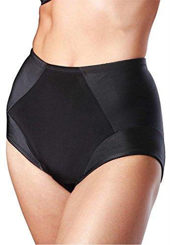 Dominique Women's Plus Size Shaping Brief Black,2Xl