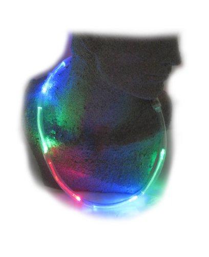 WeGlow International Multicolor Blinky LED Necklace (3 pieces), Health Care Stuffs