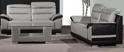 Grau 3 Sitzer Und 2 Sitzer Sofa Günstig Online Kaufen