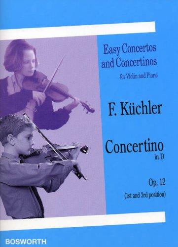 Leichte Konzerte für Violine und Klavier