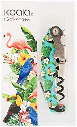 Koala Internacional Hosteleria SACACORCHOS Decorado Toucan Koala, Acero Inoxidable, Multicolor