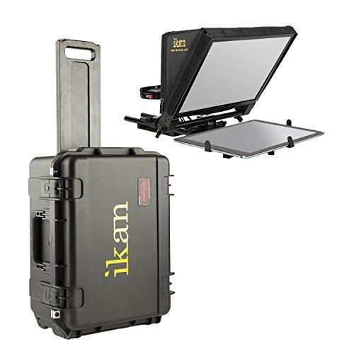 Ikan PT-Elite-PRO-TK PT-Elite-PRO Travel Kit w/Rolling Hard Case, Black